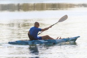 Kayaking Near our Waterfront Cottages in Sequim